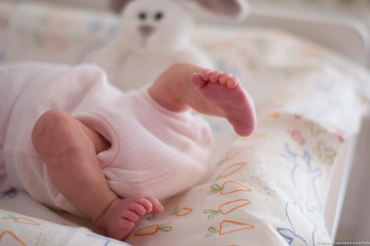 los pies de mi bebé